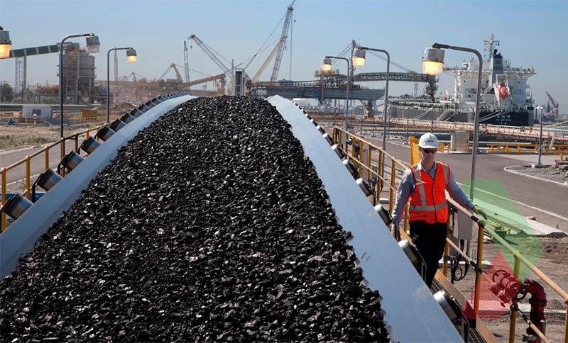 Băng chuyền sản xuất than đá tại Úc