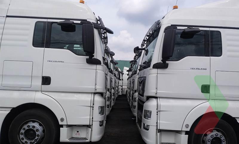 Đội xe tải vận chuyển than chuyên nghiệp của Thuận Hải