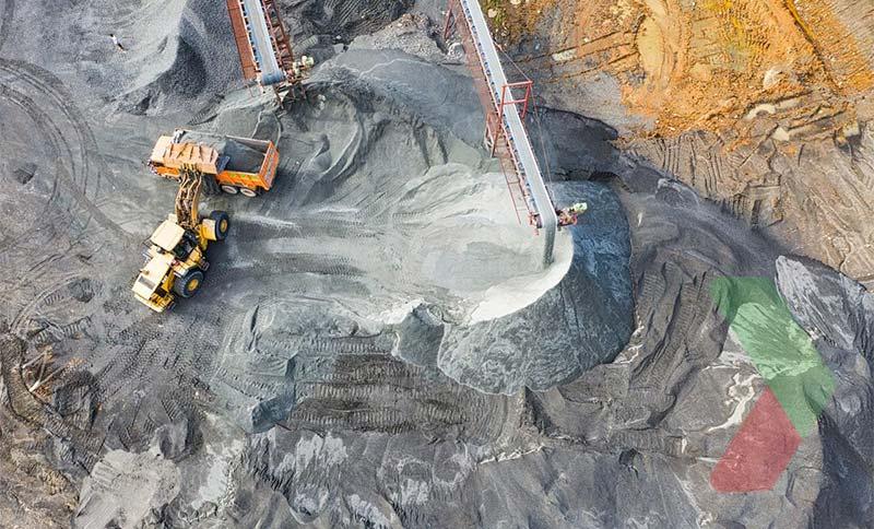 Hình ảnh khai thác than đá tại Australia