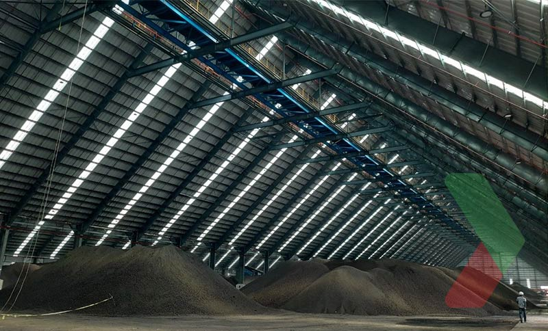 Kho than đá Cái Mép vớisức chứa 500.000 tấn có thểbảo đảm nguồn cung ổn định