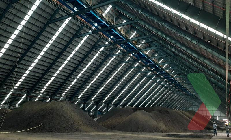 Hình ảnh thực tế của kho than Thuận Hải
