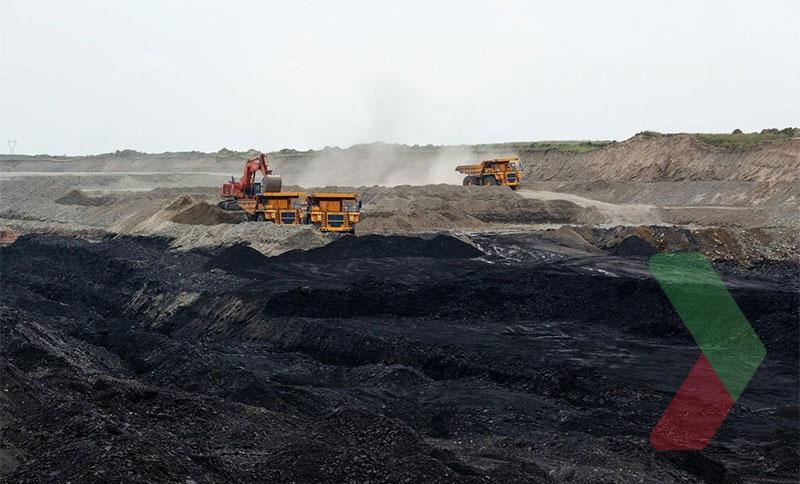 Hình ảnh khai thác than đá tại Nga